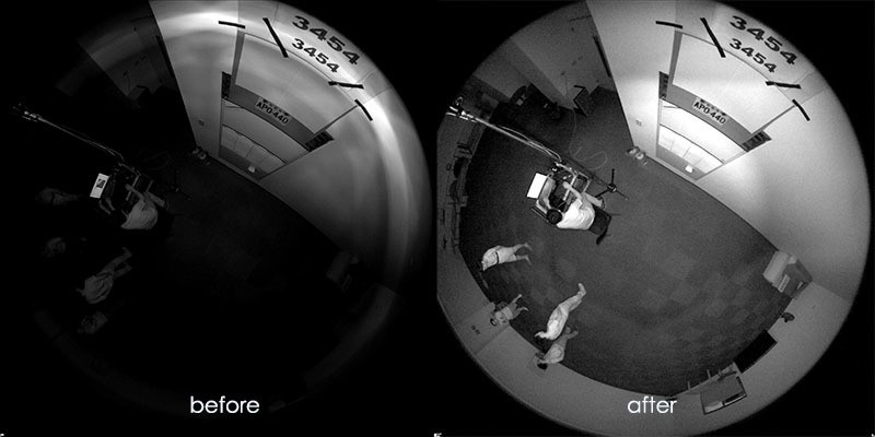 Smart IR II before and after