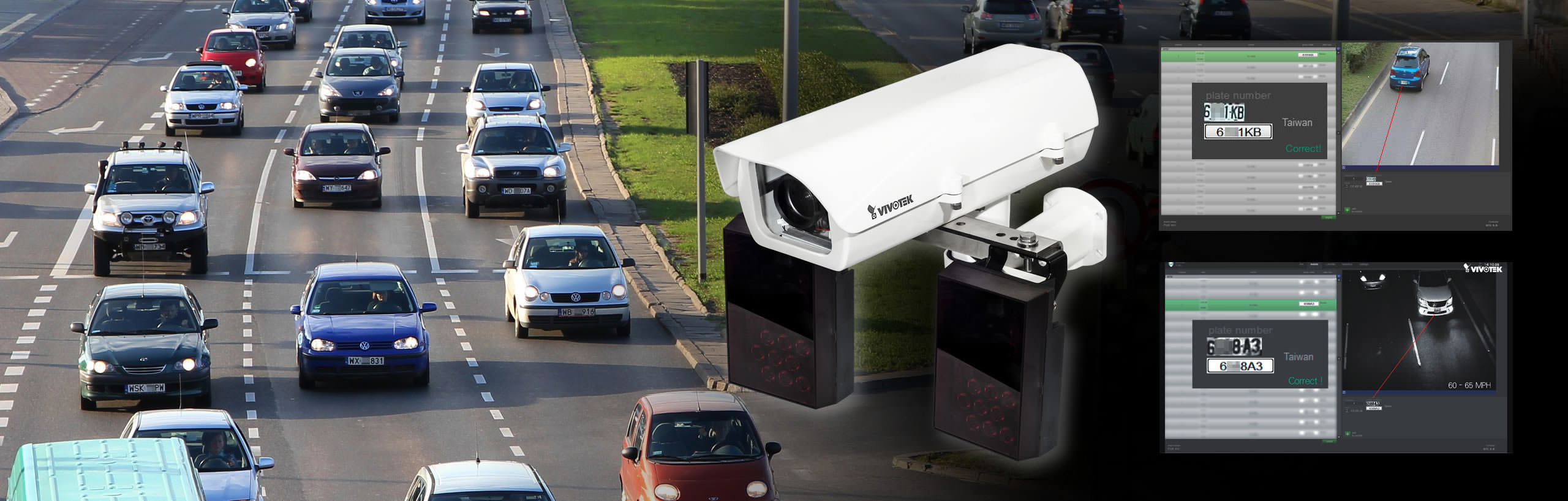 VIVOTEK Launches Its Latest License Plate Capture Solution IP816A-LPC, Real-Time Surveillance for Traffic Monitoring