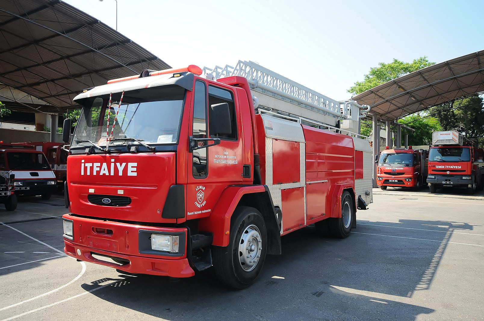 Istanbul Fire Brigade, Protecting Istanbul Since 1874.