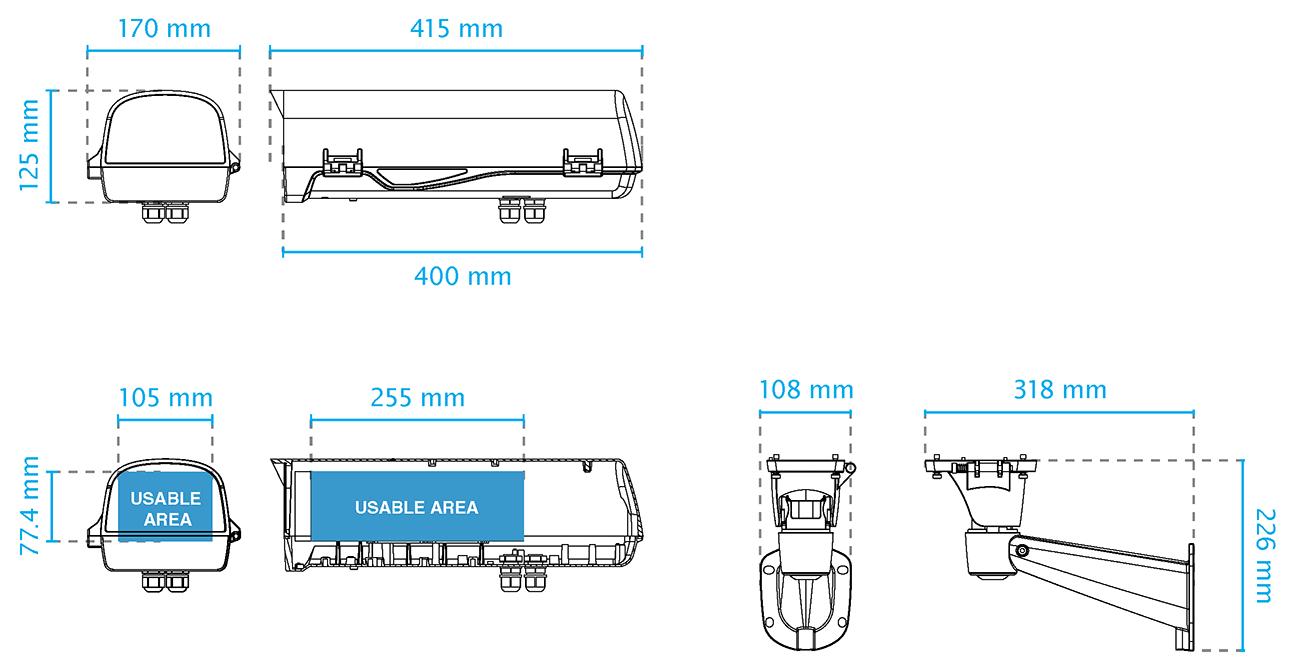 AE-238 Dimensions