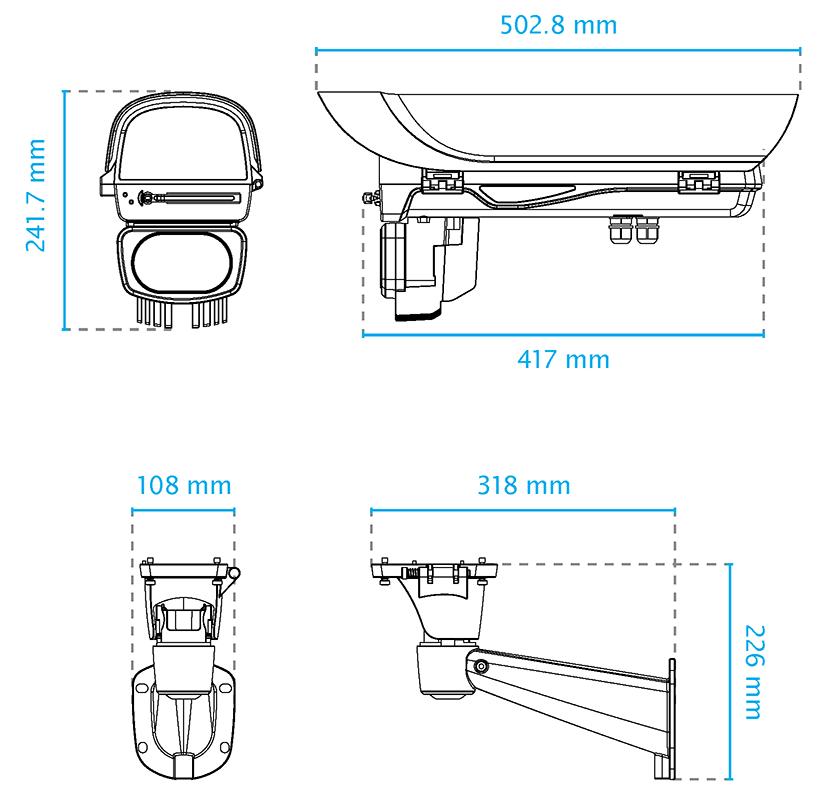 AE-23A Dimensions