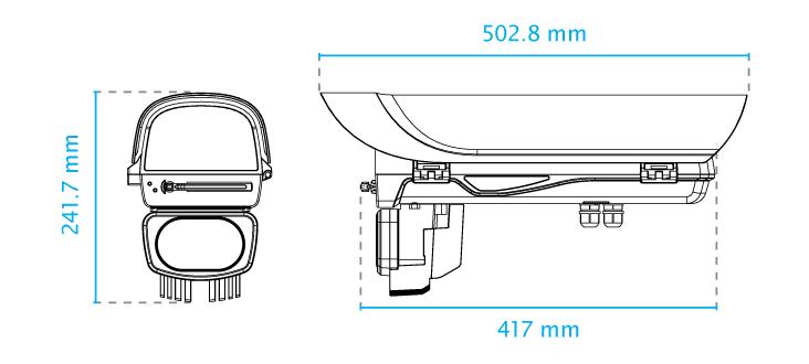 AE-23F Dimensions