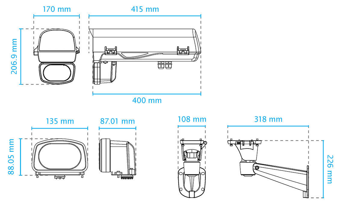 AE-243 Dimensions