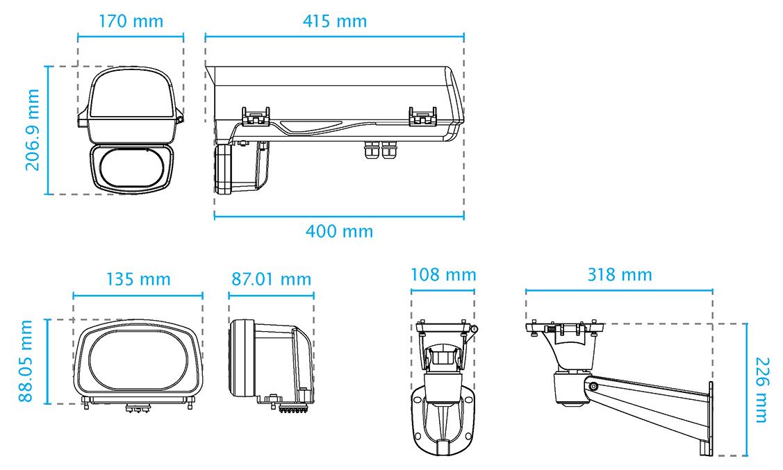 AE-244 Dimensions