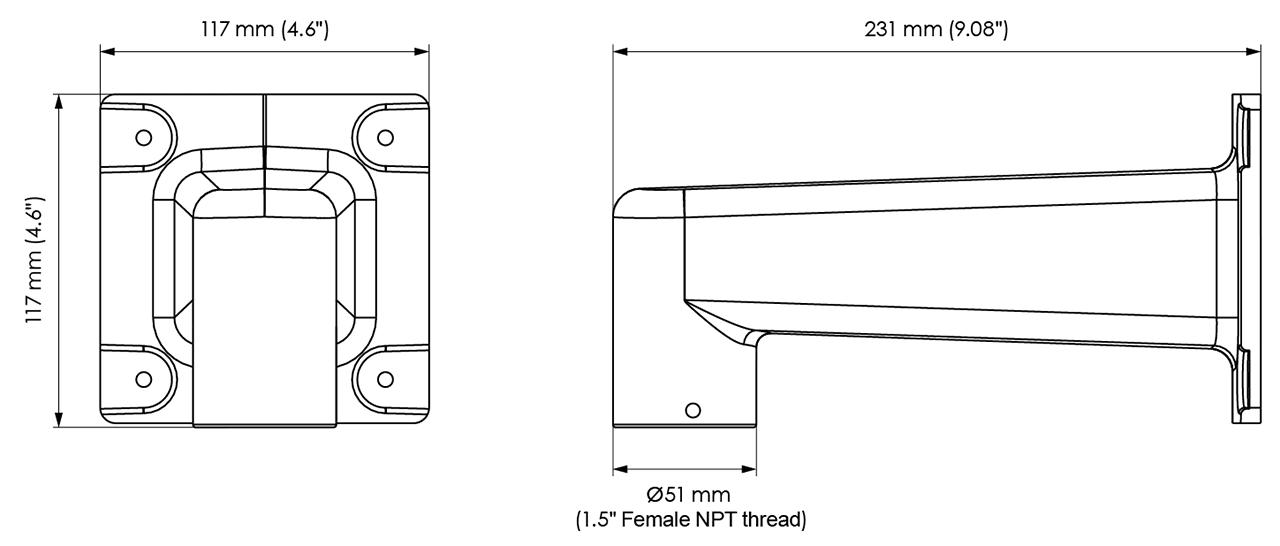 AM-218 Dimensions
