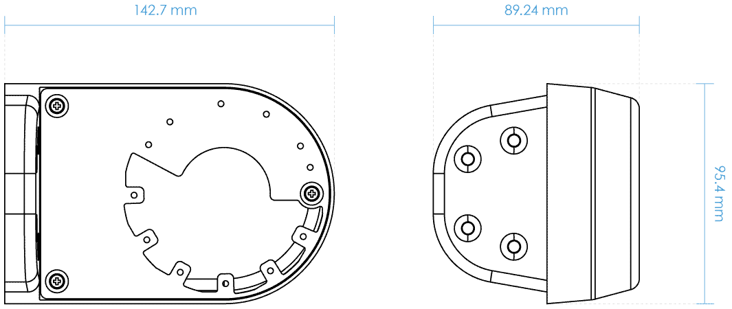 AM-21B Dimensions