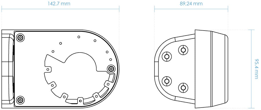 Dimensiones AM-21B