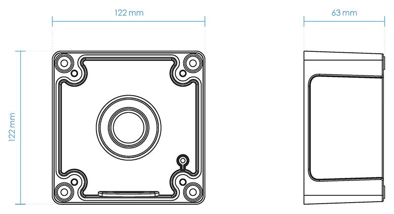 AM-719 Dimensions
