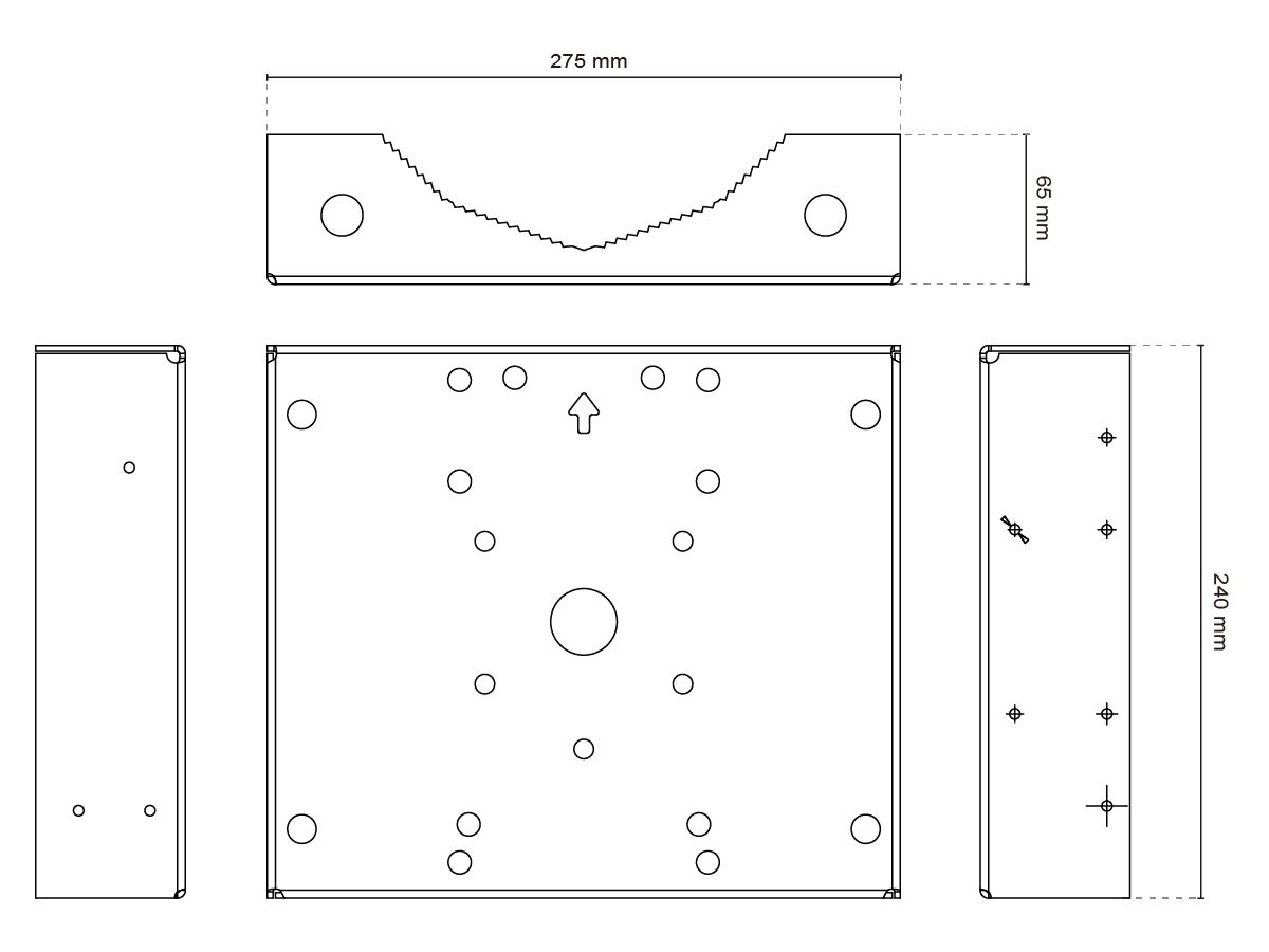 AM-315 Dimensions
