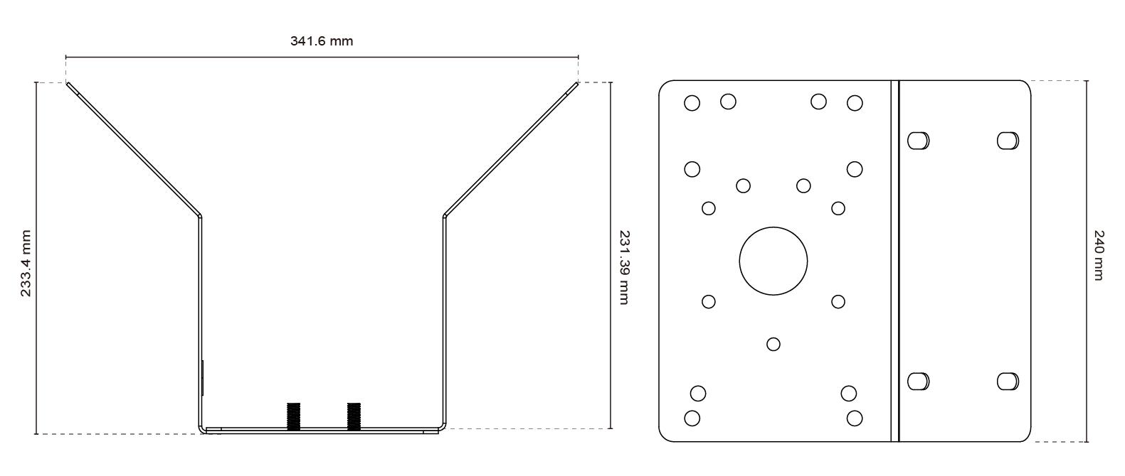 AM-414 Dimensions