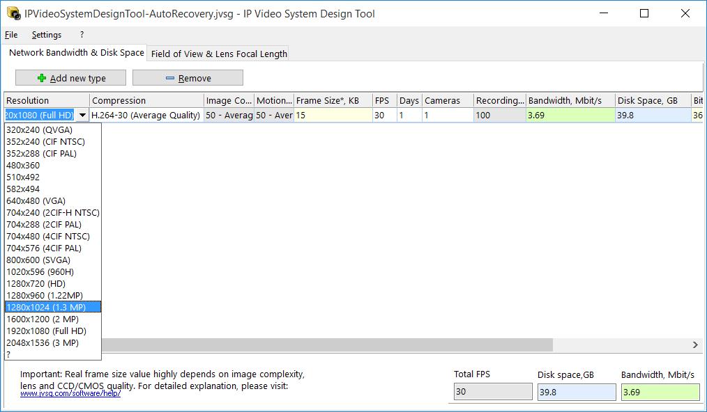 IP Video System Design Tool - Software | VIVOTEK
