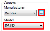 Step 3. Select the Correct Camera Model from either Model List or Camera List.