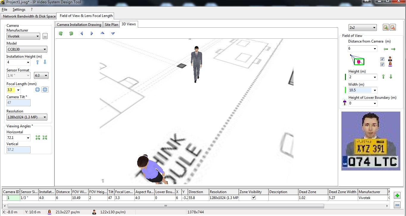 Step 7. Employ the 3D View to See a Simulated View.